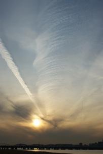 回転雲の写真素材 [FYI00120065]