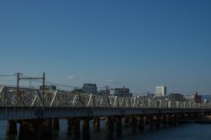 鉄橋の写真素材 [FYI00120087]