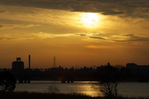夕日の写真素材 [FYI00120101]