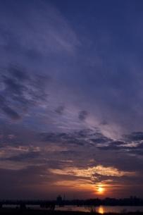 夕日の写真素材 [FYI00120121]