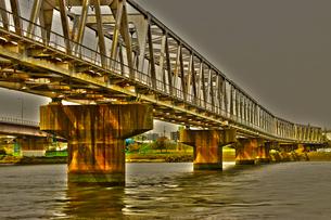 鉄橋の写真素材 [FYI00120299]
