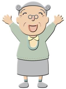 おばあちゃんの素材 [FYI00120527]