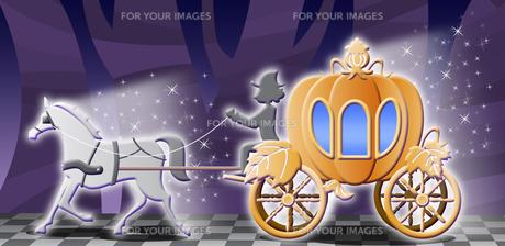 かぼちゃの馬車の写真素材 [FYI00120544]