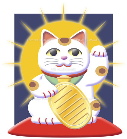 招き猫の写真素材 [FYI00120556]