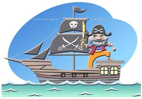 海賊の写真素材 [FYI00120568]