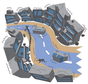 地震の写真素材 [FYI00120573]