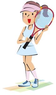女子テニスの写真素材 [FYI00120612]