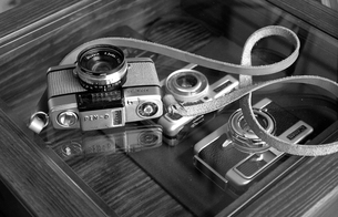 カメラ-1Bの写真素材 [FYI00120684]