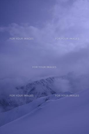 雪山の素材 [FYI00120868]