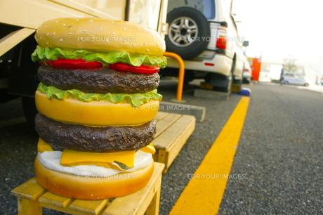 ハンバーガーの写真素材 [FYI00121063]