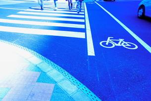 横断歩道の写真素材 [FYI00121079]