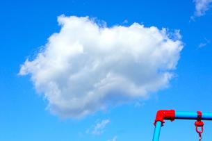 公園からの青空の写真素材 [FYI00121093]