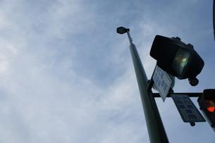 信号機の写真素材 [FYI00121102]