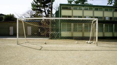 サッカーのゴールの写真素材 [FYI00121139]