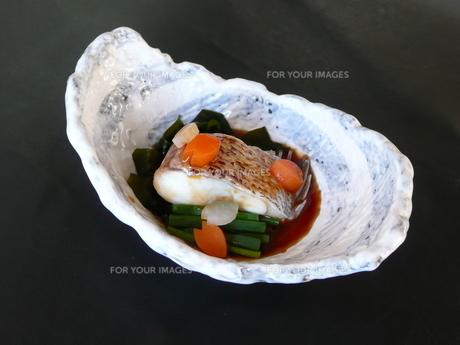 鯛の煮物の写真素材 [FYI00121194]