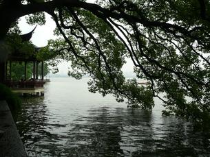 中国・杭州 平湖秋月の写真素材 [FYI00121202]