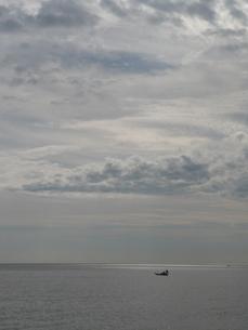 海とつり船の写真素材 [FYI00121206]