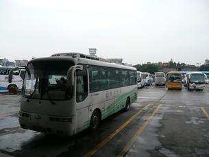 中国・杭州バスターミナルの写真素材 [FYI00121216]
