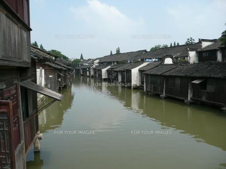 中国・浙江省 烏鎮の写真素材 [FYI00121222]