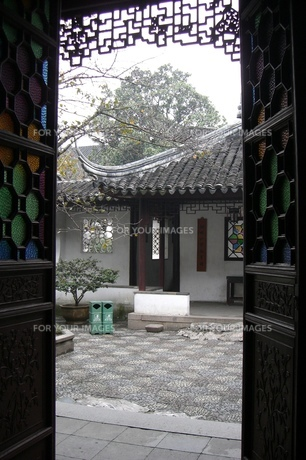 中国・蘇州 獅子林の写真素材 [FYI00121251]
