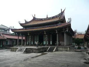 台湾・台北 孔子廟の写真素材 [FYI00121284]