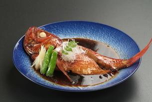 金目鯛の煮物の写真素材 [FYI00121290]