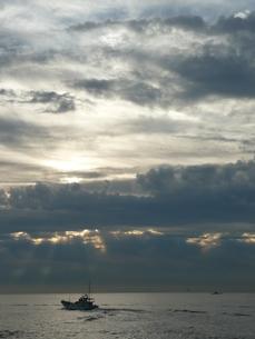 朝の海の写真素材 [FYI00121328]
