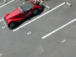駐車場の写真素材 [FYI00121338]