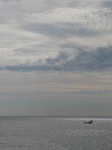 朝の海の写真素材 [FYI00121339]