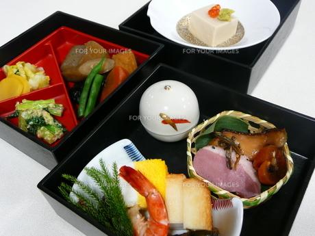 和食弁当の写真素材 [FYI00121358]