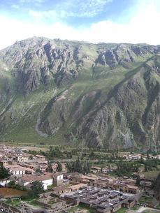 ペルーの山村の写真素材 [FYI00121461]