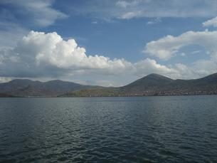 チチカカ湖の写真素材 [FYI00121462]