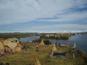 チチカカ湖の写真素材 [FYI00121464]