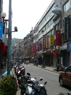 台湾・淡水 老街の写真素材 [FYI00121467]