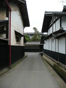 中山道 茂田井宿の写真素材 [FYI00121502]