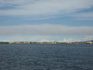 ペルー チチカカ湖の写真素材 [FYI00121503]