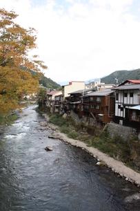 中山道 木曽福島宿の写真素材 [FYI00121511]