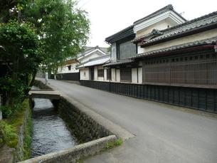 中山道 茂田井宿の写真素材 [FYI00121516]