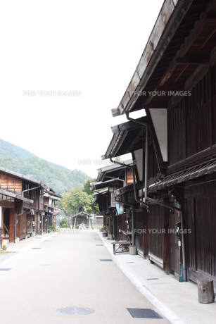 中山道 奈良井宿の写真素材 [FYI00121527]