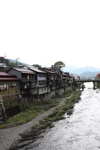 中山道 木曽福島宿の写真素材 [FYI00121531]