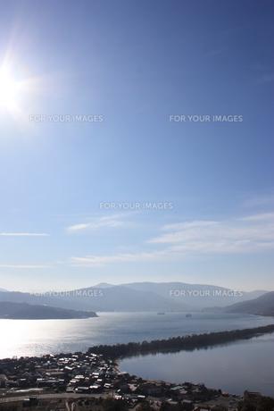 天橋立 傘松公園よりの写真素材 [FYI00121549]
