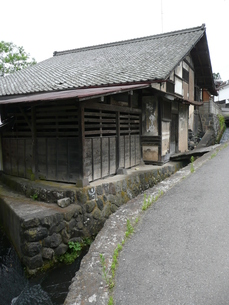 中山道 茂田井宿の写真素材 [FYI00121555]