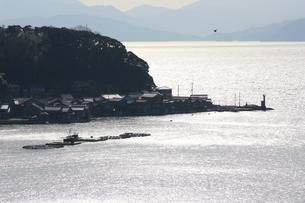 伊根の舟屋の写真素材 [FYI00121557]