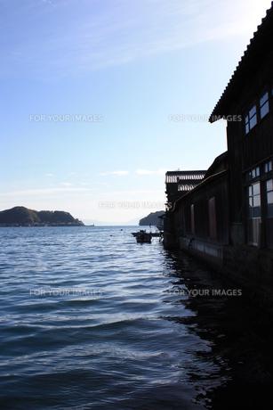 漁村 京都・伊根の写真素材 [FYI00121561]