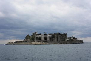 長崎 軍艦島の写真素材 [FYI00121571]