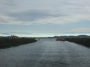 ペルー チチカカ湖の写真素材 [FYI00121577]