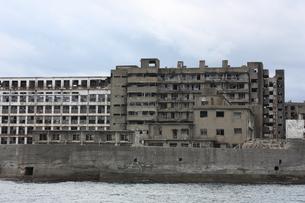 長崎 軍艦島の写真素材 [FYI00121579]