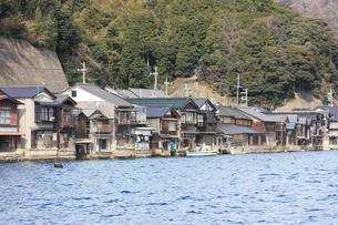 伊根の舟屋の写真素材 [FYI00121583]
