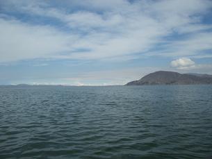 ペルー チチカカ湖の写真素材 [FYI00121597]