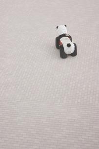 パンダの乗り物の写真素材 [FYI00121845]